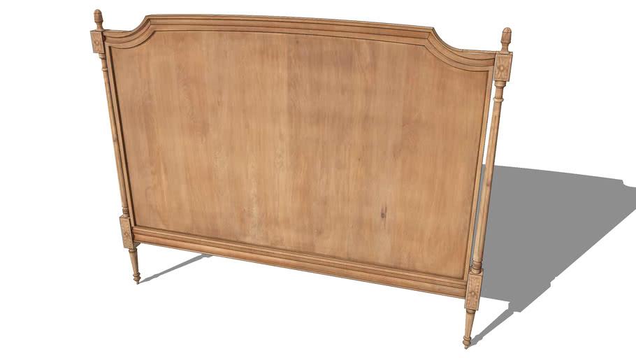 Tête de lit CHENONCEAU bois grisé, Maisons du monde. Réf: 131.236 Prix:349€