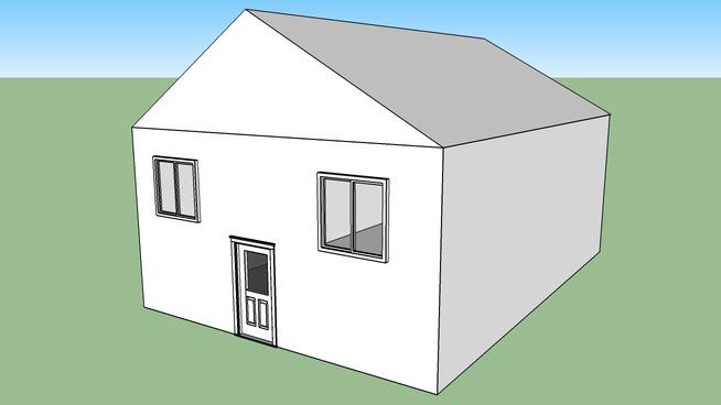 Maison a colorier et a finir