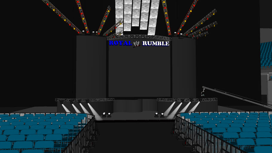 Royal Rumble 2013 Stage