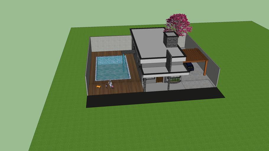 Casa modelo condominio