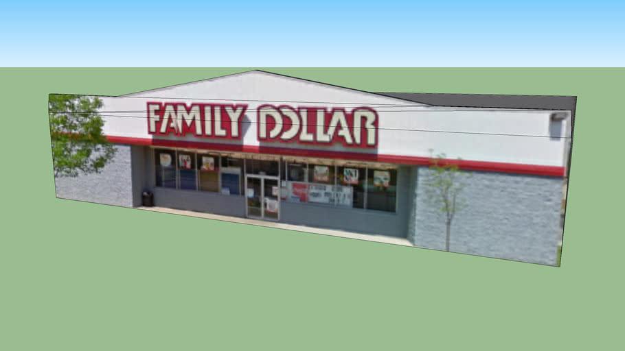 Family Dollar in Nashville, TN, USA
