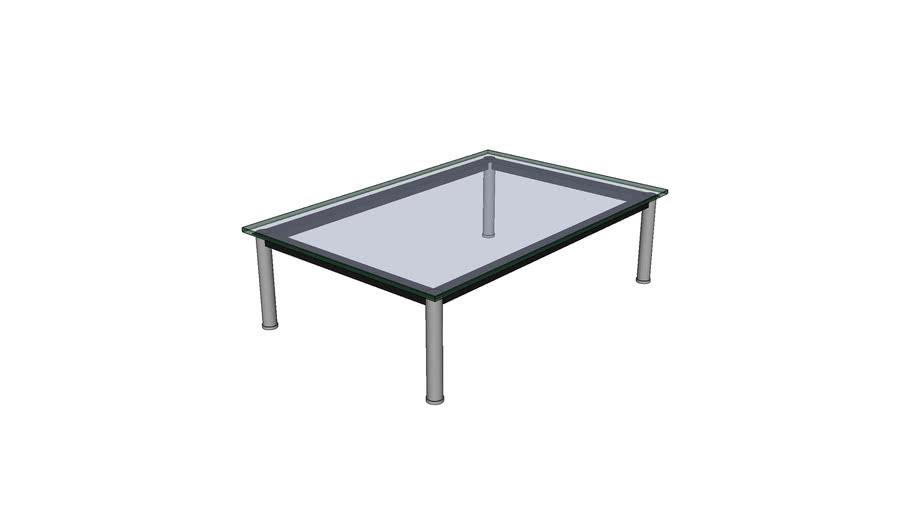 Le Corbusier LC 10 table 120x80x33
