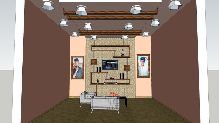 HALL WITH TV