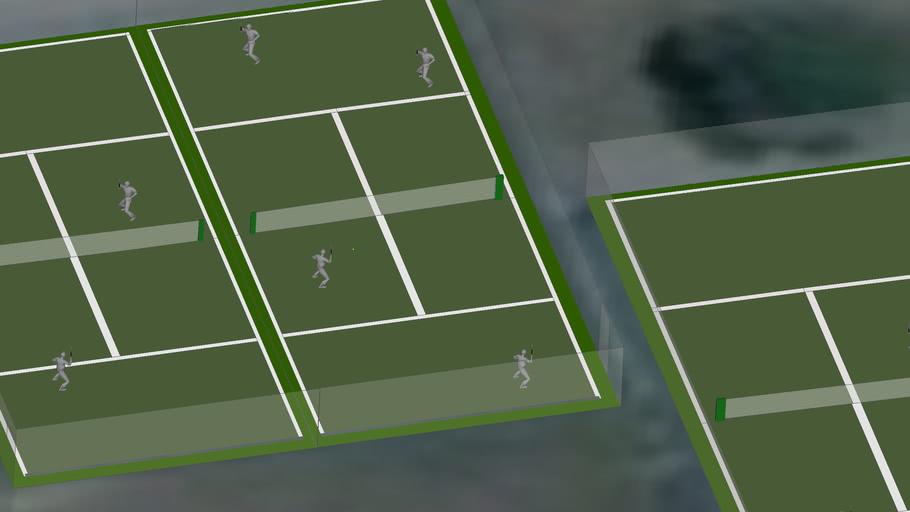 PAHS tennis Court