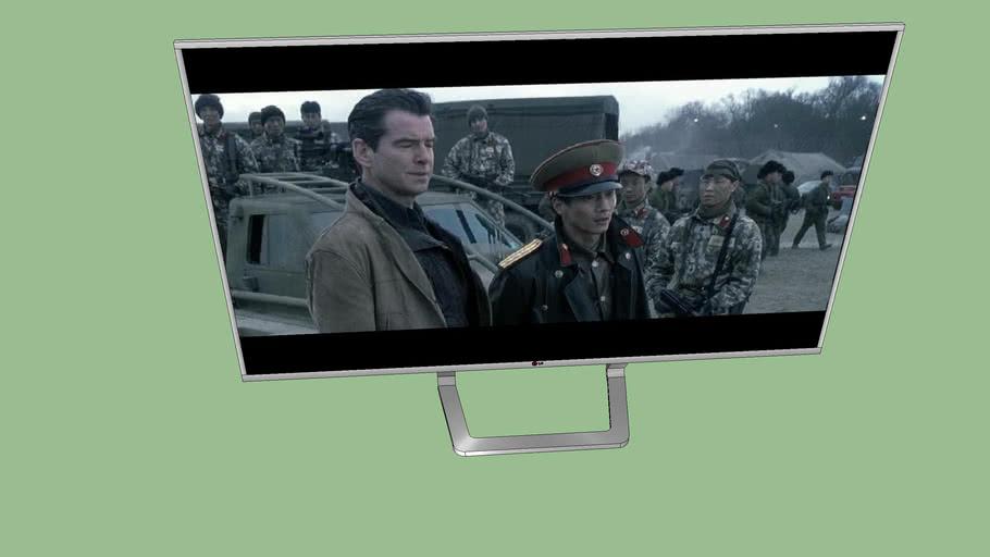 007誰與爭鋒 LG 4K TV 007 die another day  LG 4K tv