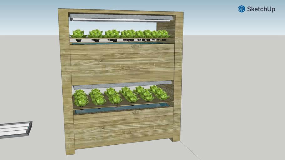 Indoor Hydroponic Salat-o-mat