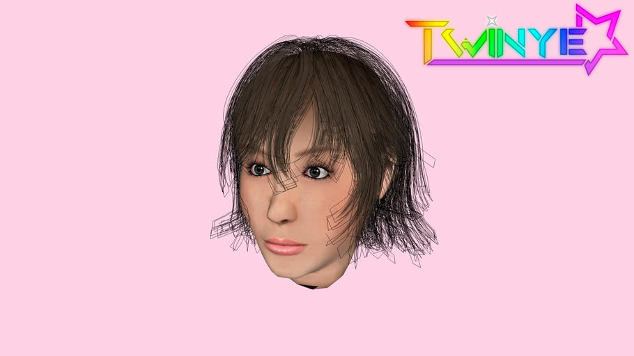 Final Fantasy XV Iris cabelo    Hair
