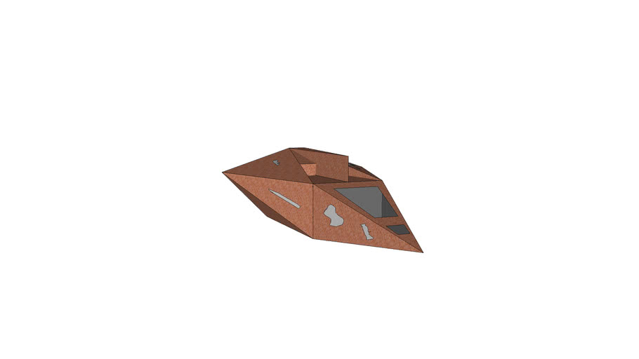 Rusted Space-Ship