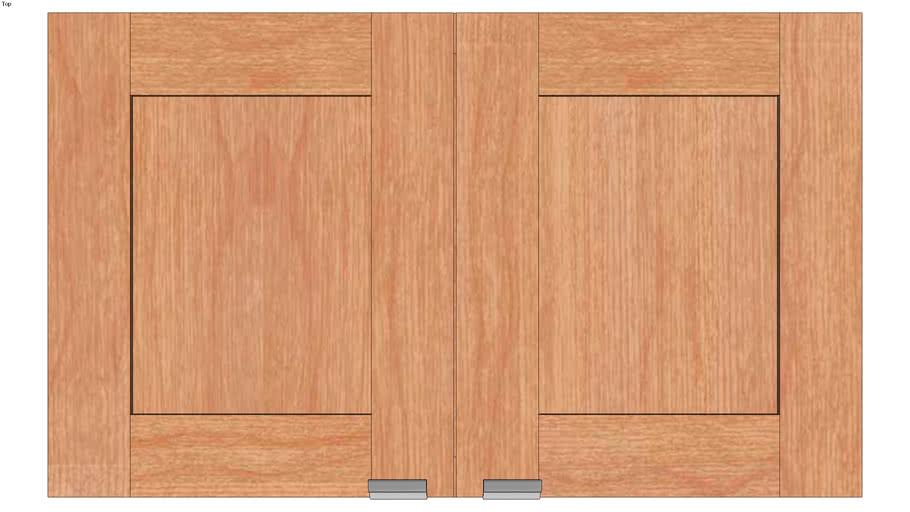 Wall Double Door 18Hx15D
