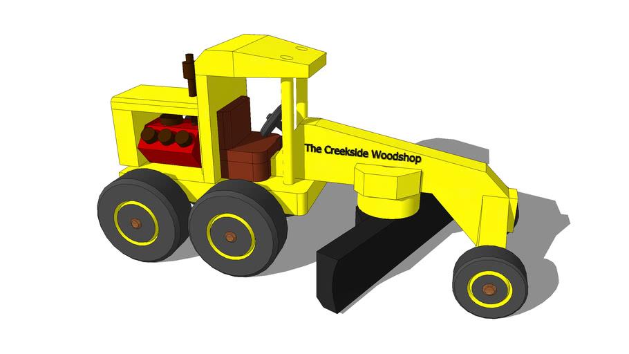 Toy Road Grader