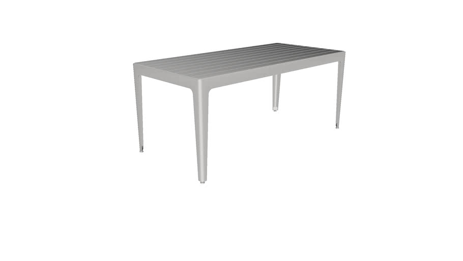 "Mixx 34"" x 72"" Thermory Table"