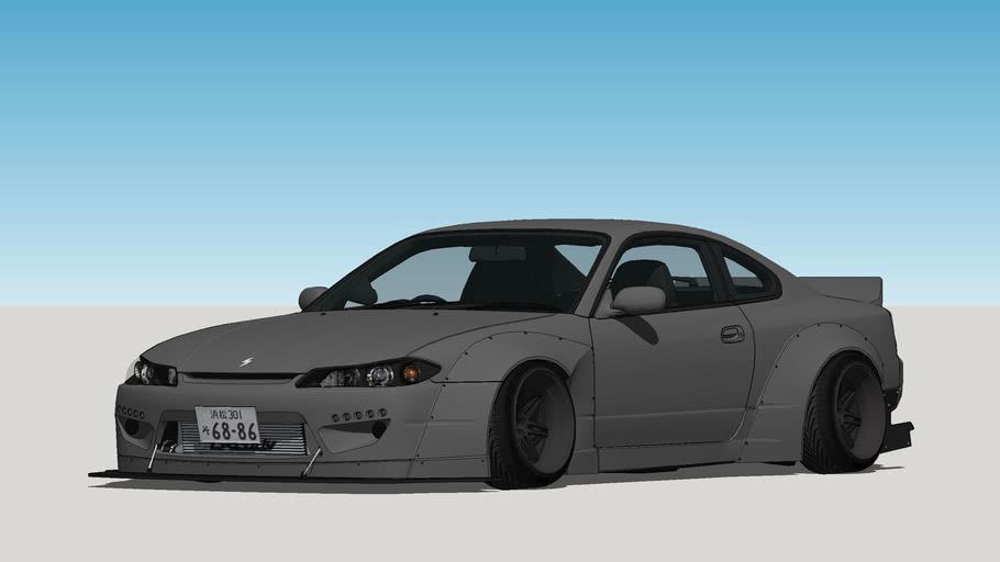 1999 Nissan - Silvia S15 Rocket Bunny *