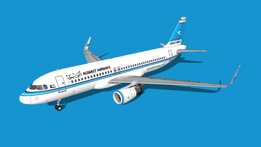 Kuwait Airways (الكويتية) Airbus A320-214(WL)