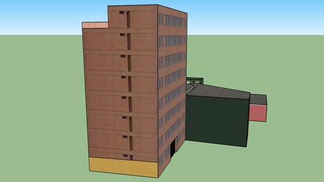 Barranco 20, Houses and a building in Domeyer and El Libertador (San Martin) streets.
