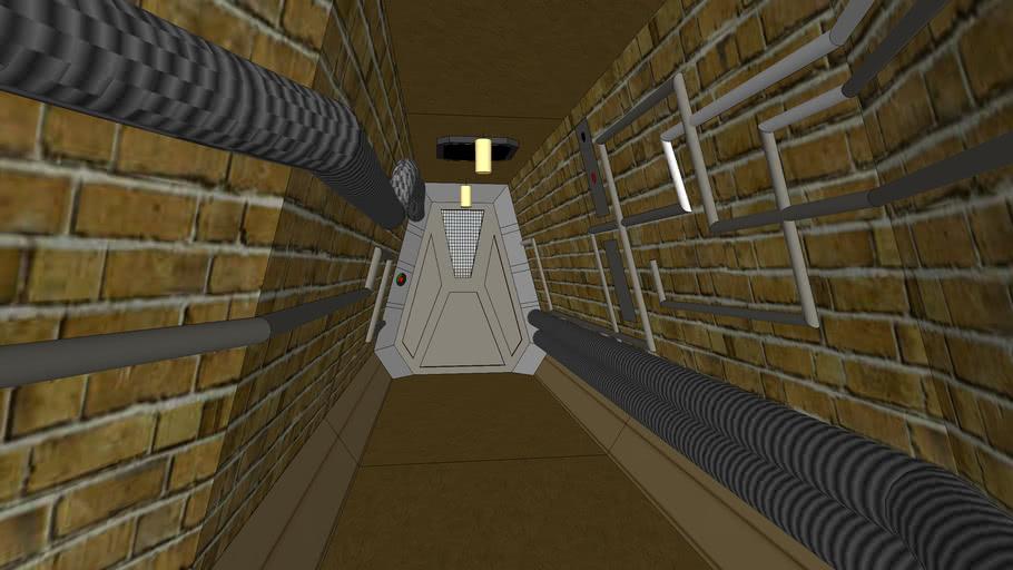 Alien3 corridor