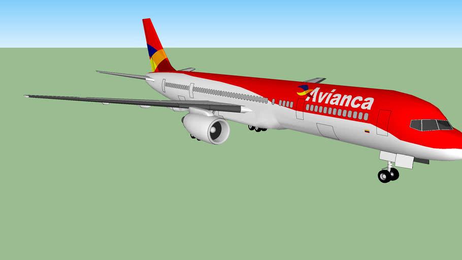 Avianca B757-200