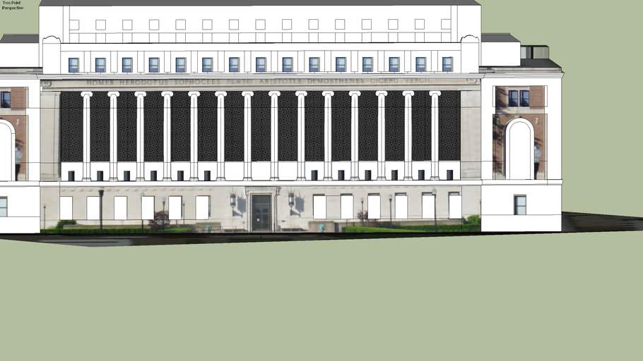 Butler Library, Columbia University (Draft)