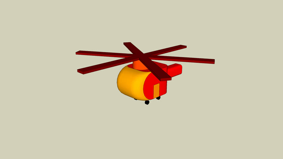 Helicopter With Notar