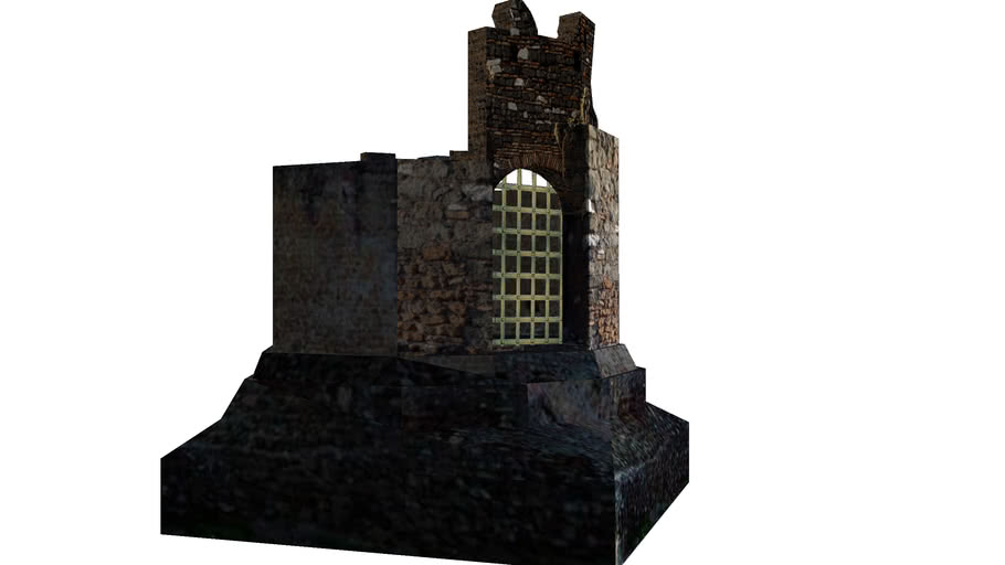 Mausoleo circular romano.