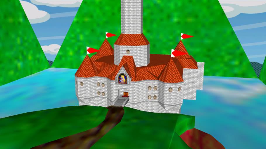 peaches castle (includes inside!!!!!!)