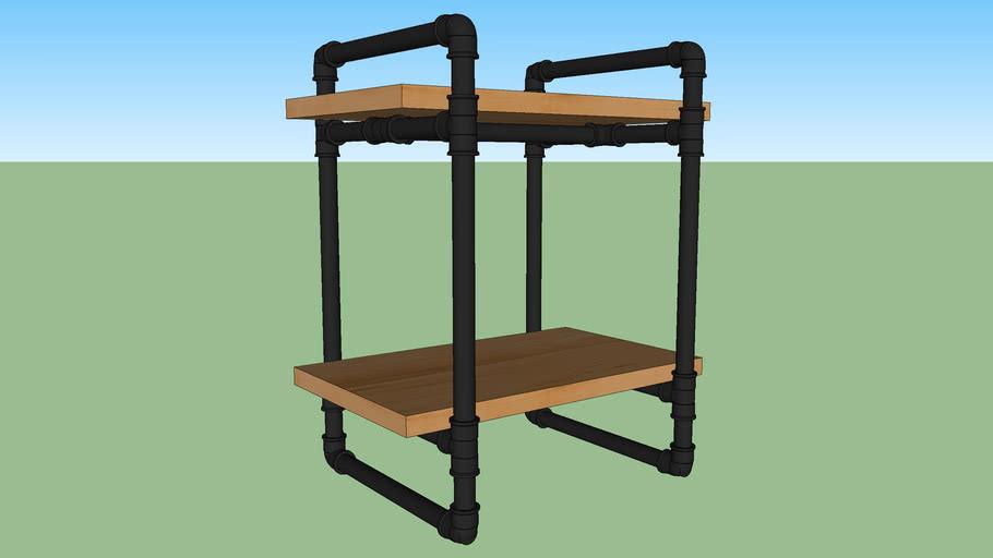 Mesa de Cabeceira PVC