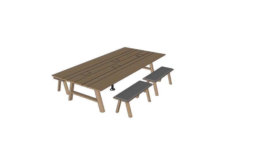 BuzziPicNic _ Buzzi picnic bench _ Buzzi picnic work bench