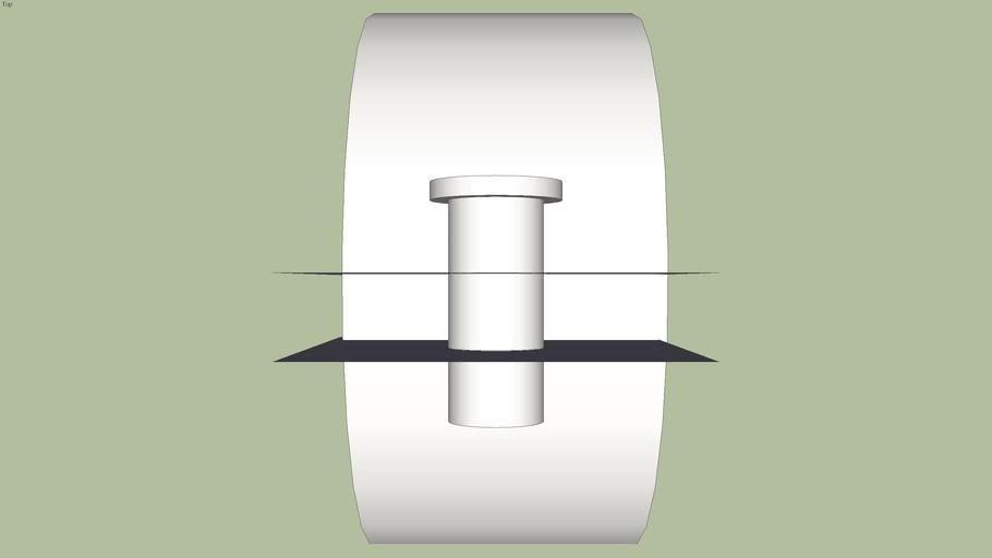 Presilha de eletroduto aparente Fix Horizontal