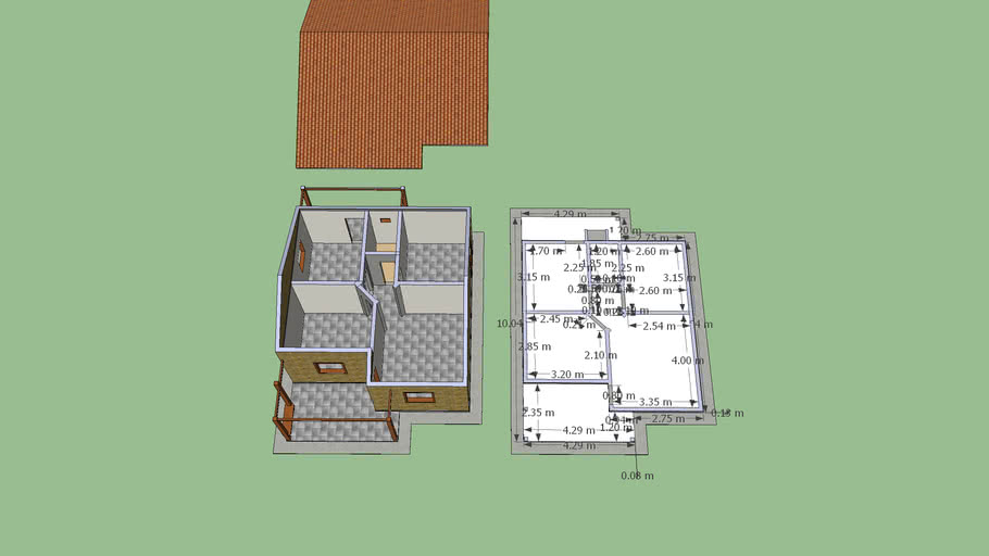 Casa do Caseiro do sitio