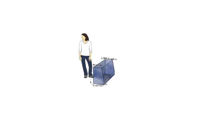 Acuario trapezoidal