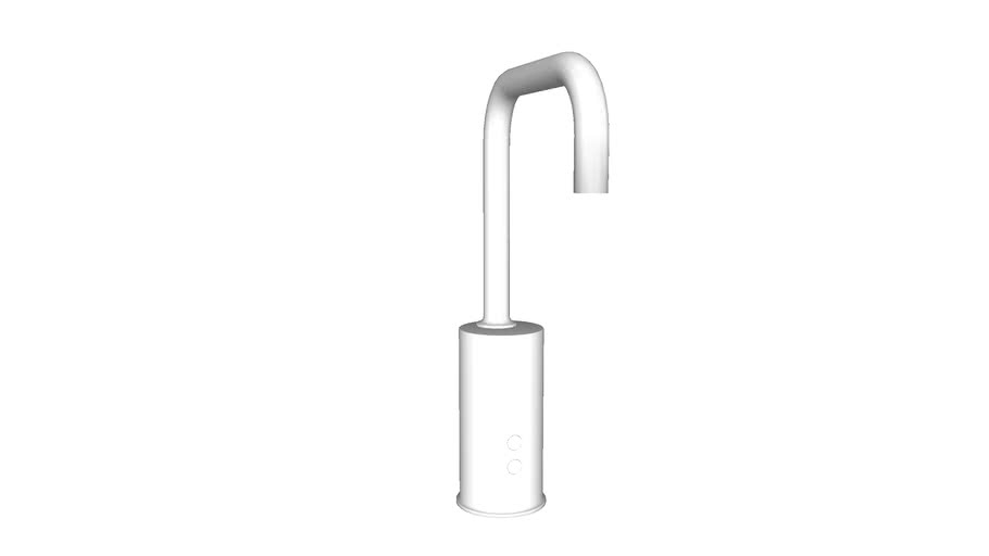 K-13475 Gooseneck single-hole Touchless AC-powered commercial faucet with Insight(TM) technology