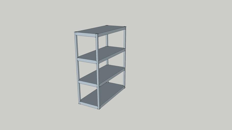 Small rack shelving
