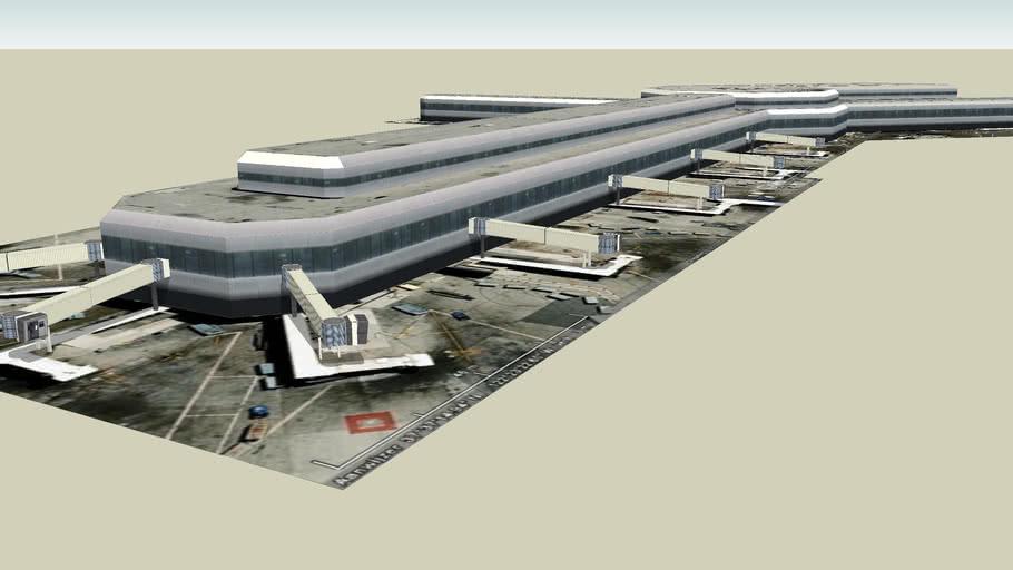 KSFO Terminal 3 (part 1)