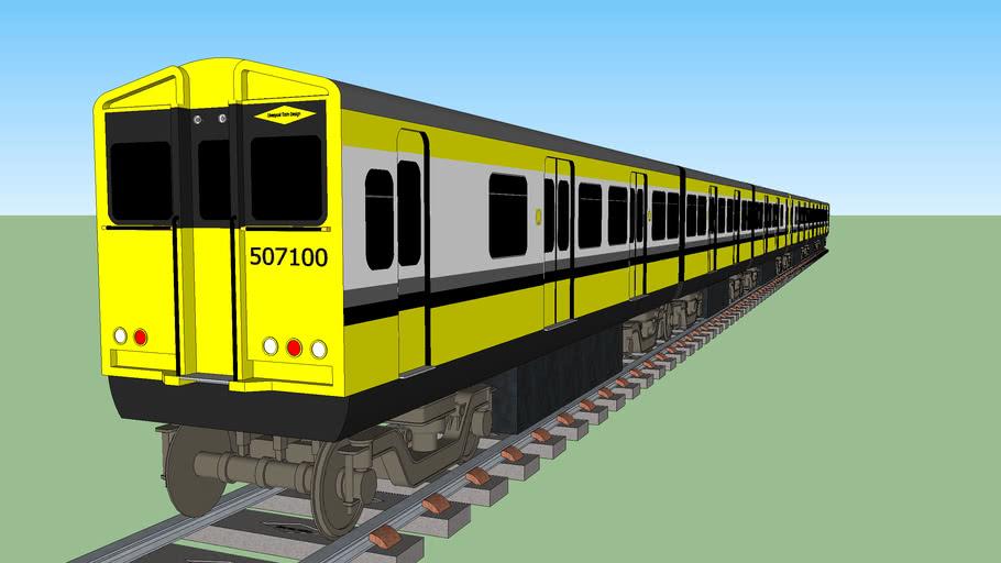 merseyrail electric 1980s (six car)