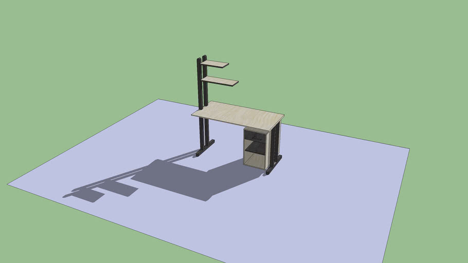 designed working table