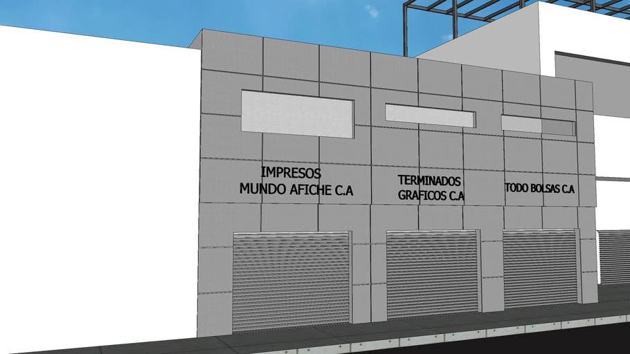 FACHADA DE LOCAL COMERCIAL CON ALUCOBOND