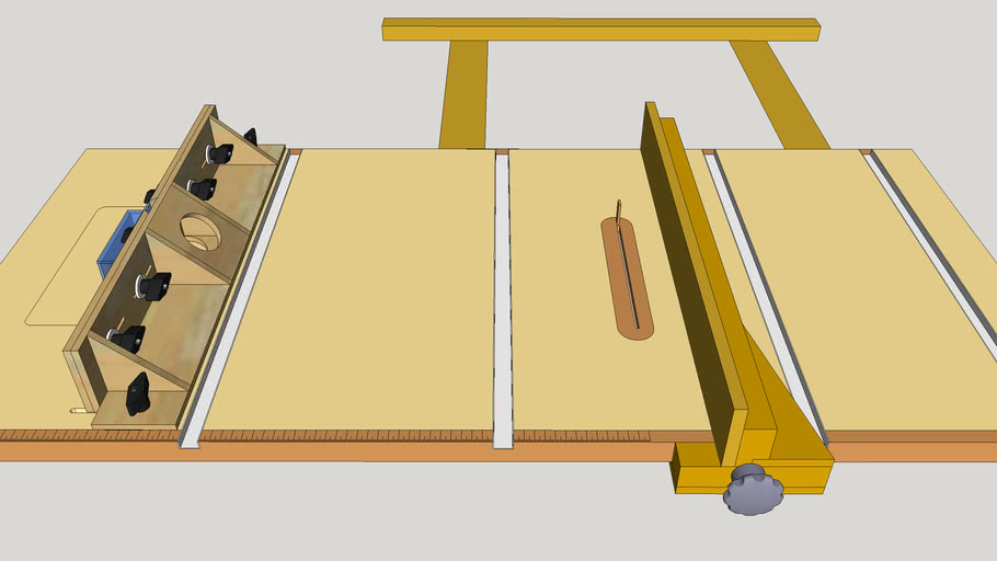 Ultimate Table Saw & Router Table
