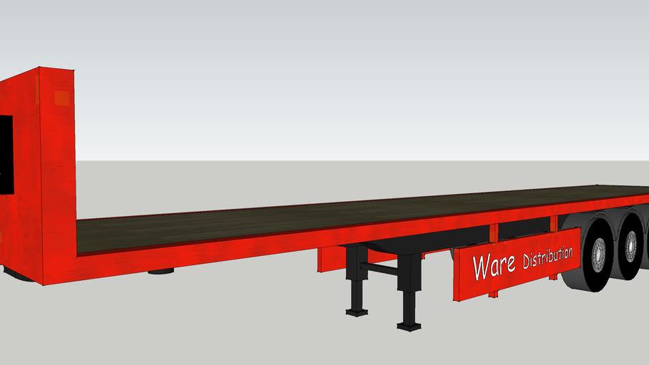 zach ware flat bed trailer