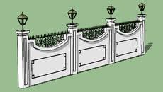 3D boundaries wall