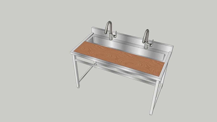 Sink 1500x760x950