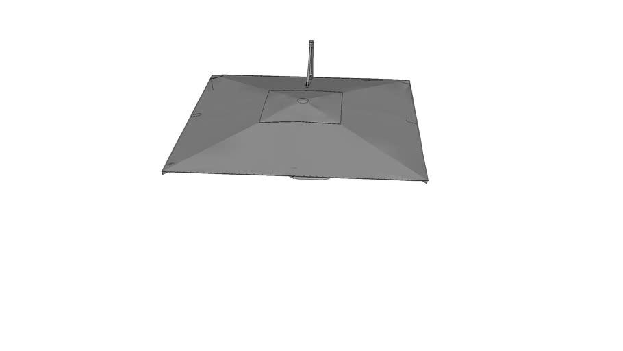 Square Cantilever Parasol
