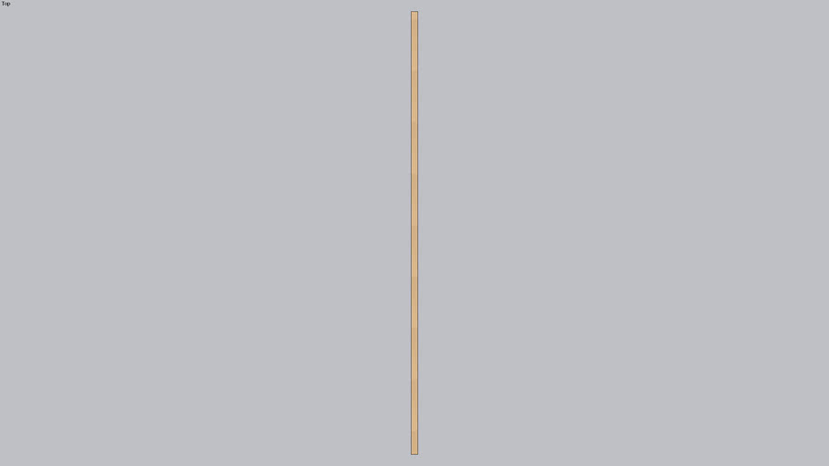 Cedar Fence Rail 2x4x8'