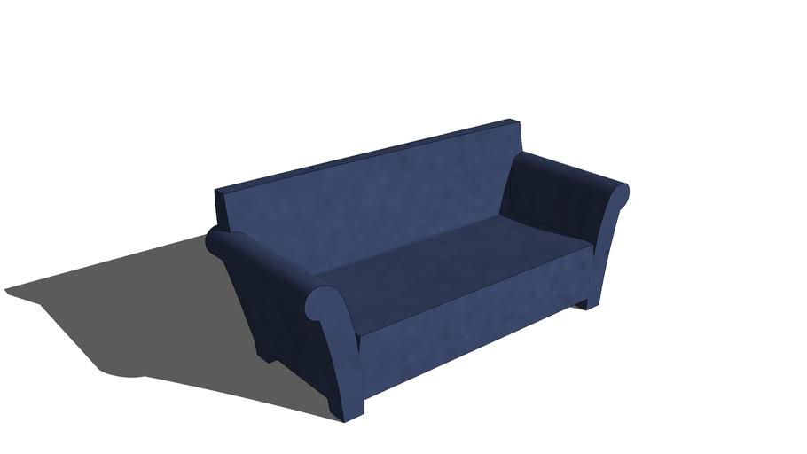 solid plastic sofa