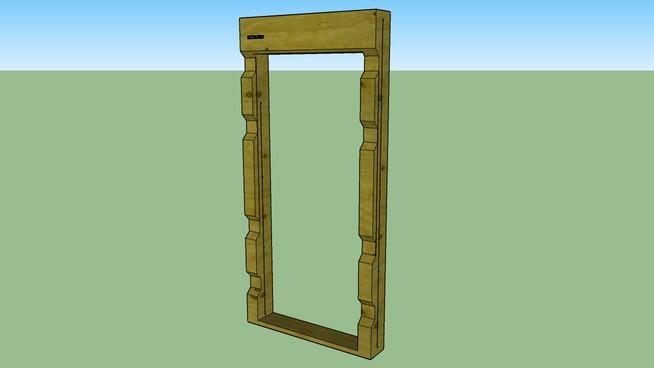 Module ossature bois MP2500_1200_200 - MODULE 3D