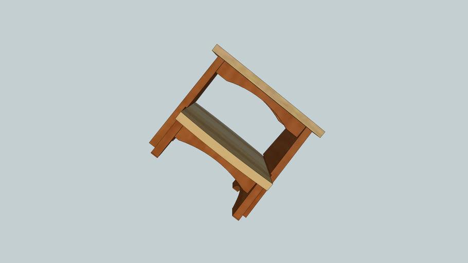 Craftsman Step Stool - Sliding Step