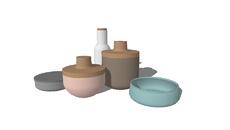 vases, glassware, pottery