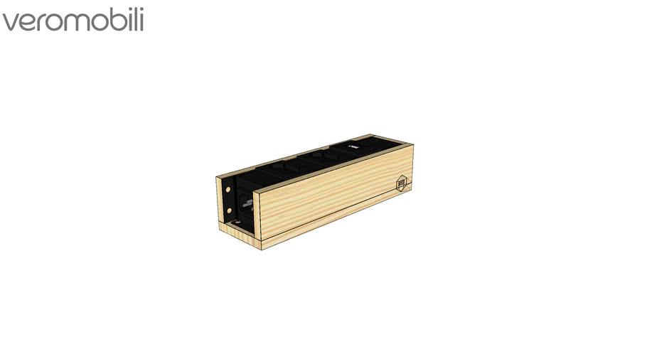 Régua Connect para tomada e USB