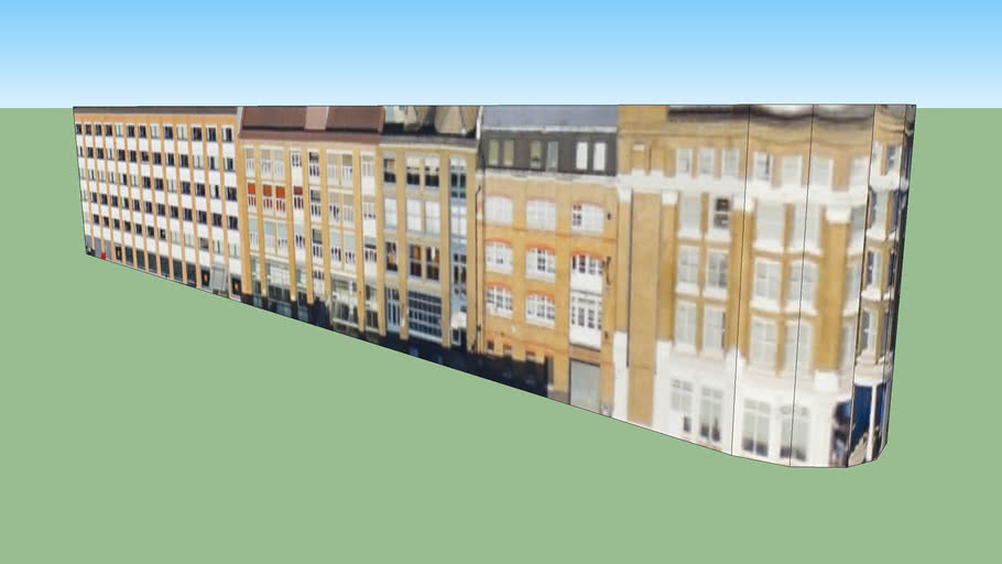Building in London EC2A, UK