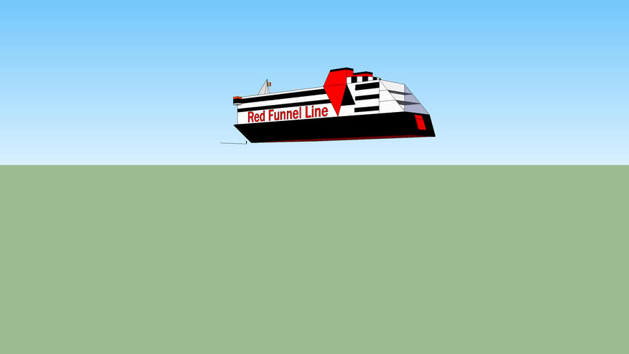Red Funnel (2000 livery)