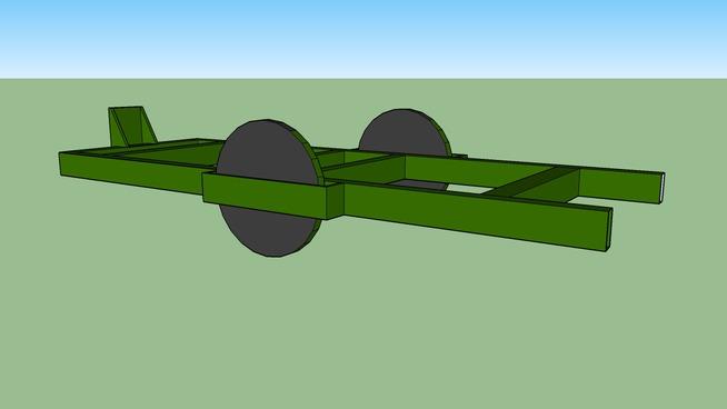 test tailer model 2 green