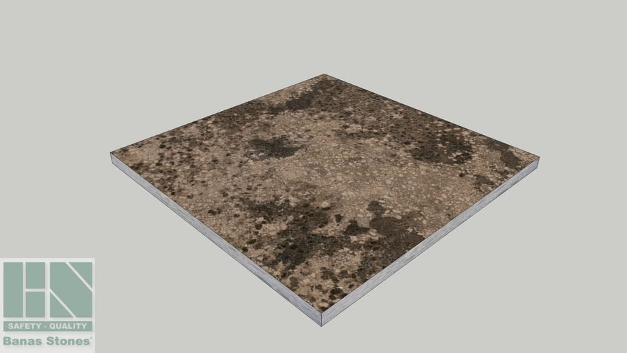 Banas® Stones Natural Pavers/Flagstone - 600mm x 600mm - Algonquin Brown